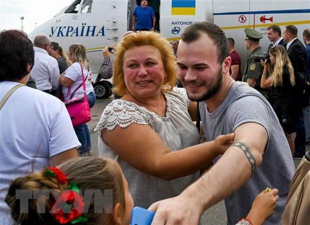 Nga phan hoi ve ke hoach trao doi tu nhan voi Ukraine hinh anh 1