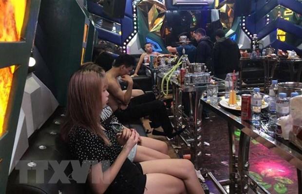 Dong Nai lien tiep phat hien su dung ma tuy trong quan bar, karaoke hinh anh 1