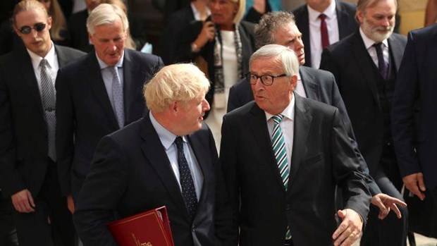 Chu tich EC: Anh va Lien minh chau Au dat duoc thoa thuan Brexit moi hinh anh 1