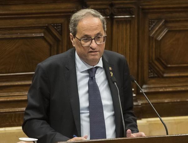 Thu hien Catalonia keu goi chinh quyen Tay Ban Nha doi thoai hinh anh 1