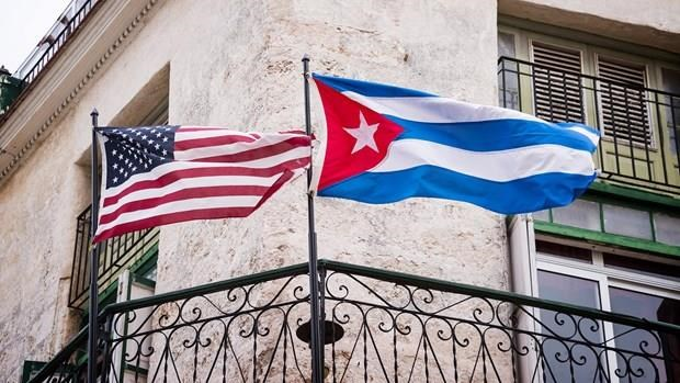 My ap dat trung phat voi Cuba, chu tich Diaz-Canel len tieng chi trich hinh anh 1