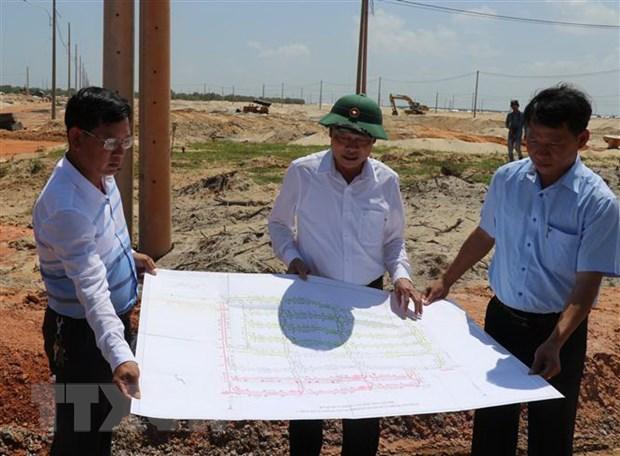 Quang Tri huy dong nguon luc phat trien ha tang khu kinh te Dong Nam hinh anh 1