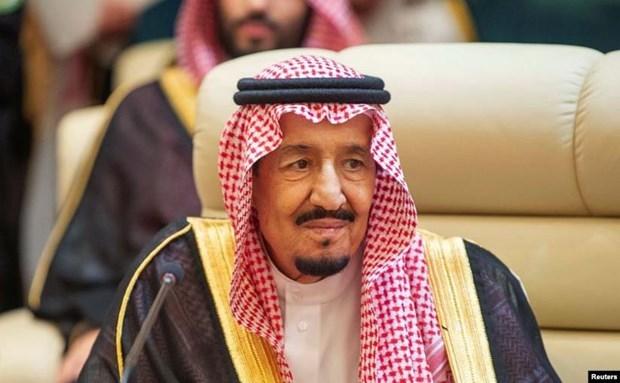 Quoc vuong Saudi Arabia gap giam doc co quan tinh bao trung uong My hinh anh 1