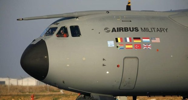 Duc tu choi tiep nhan hai may bay Airbus A400M vi loi ky thuat hinh anh 1