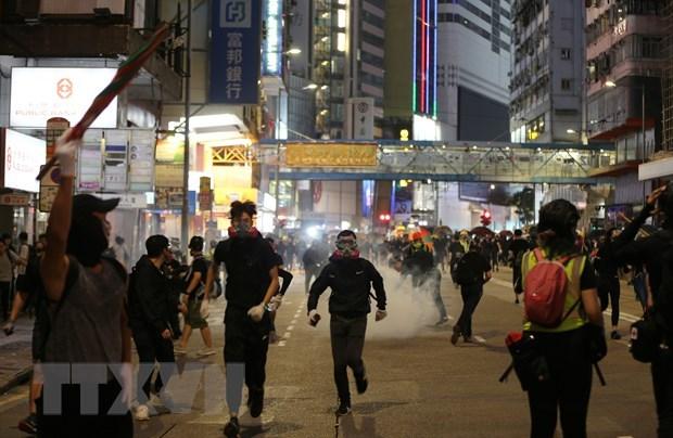 Chinh quyen Hong Kong yeu cau cac truong hoc dong cua ngay 14/11 hinh anh 1