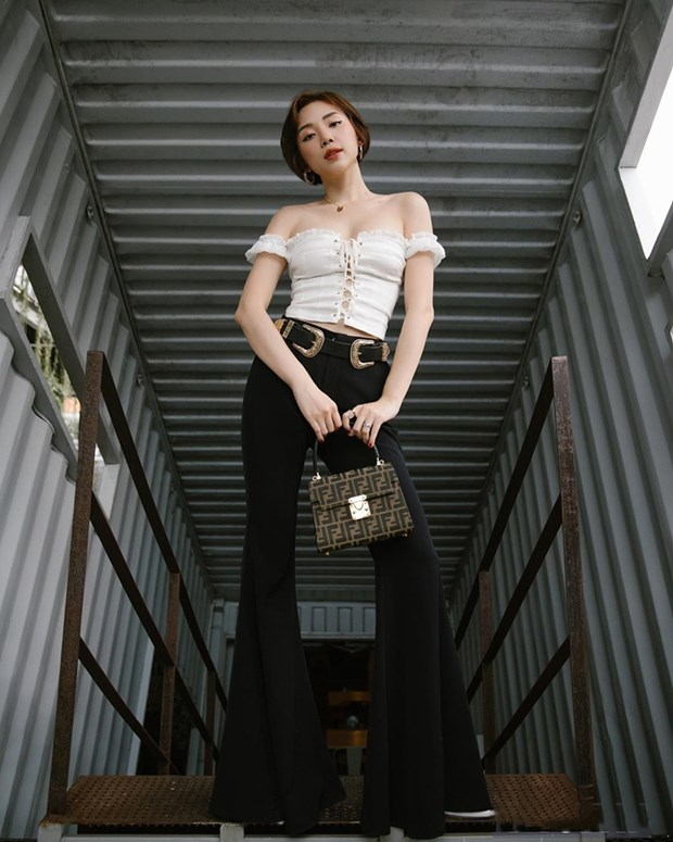My nhan Viet muon mau muon ve voi phong cach street style sanh dieu hinh anh 3