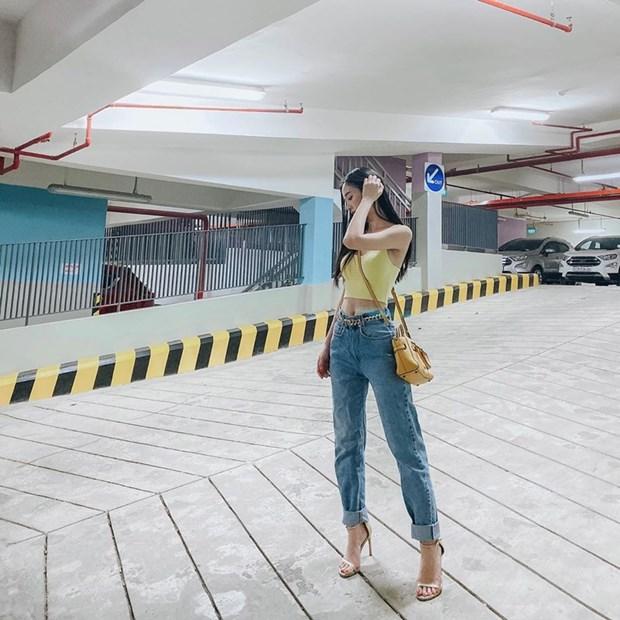 My nhan Viet muon mau muon ve voi phong cach street style sanh dieu hinh anh 13