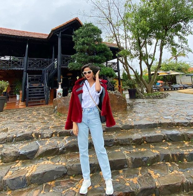 My nhan Viet muon mau muon ve voi phong cach street style sanh dieu hinh anh 15