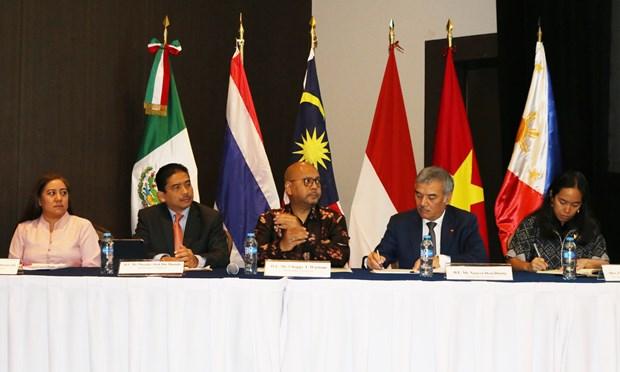 ASEAN thuc day trao doi thuong mai voi bang Yucatan cua Mexico hinh anh 1