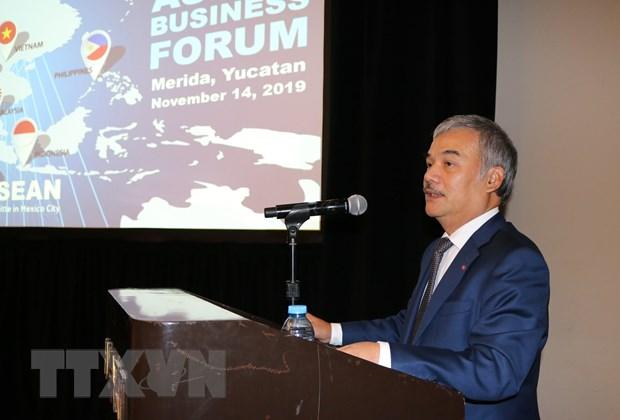 ASEAN thuc day trao doi thuong mai voi bang Yucatan cua Mexico hinh anh 2