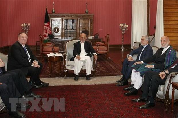 Taliban: Con qua som de ban ve viec khoi phuc dam phan voi My hinh anh 1