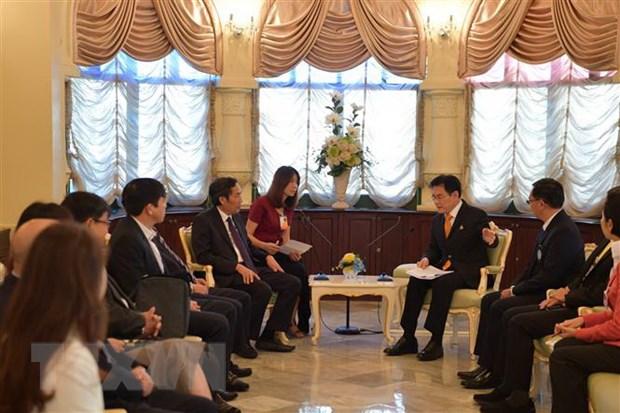 Hoi Nha bao Viet-Thai phoi hop thong tin ve Nam Chu tich ASEAN 2020 hinh anh 1