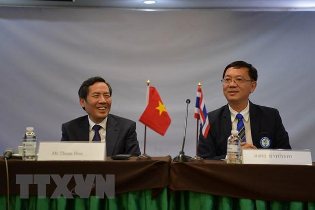 Hoi Nha bao Viet-Thai phoi hop thong tin ve Nam Chu tich ASEAN 2020 hinh anh 2