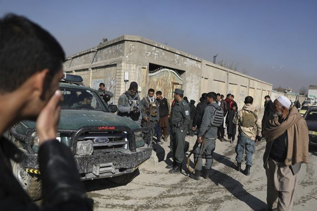 Afghanistan: Xa sung o thu do Kabul, 2 quan chuc tinh bao thiet mang hinh anh 1
