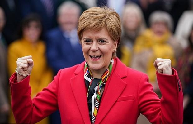 Thu hien Sturgeon: Anh can chap nhan bo phieu ve doc lap cua Scotland hinh anh 1