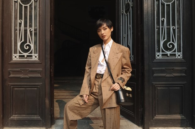 Fashionista Viet dong loat len do xuong pho cuc chat va sang chanh hinh anh 8