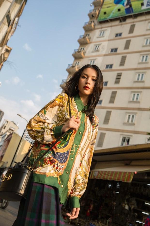 Fashionista Viet dong loat len do xuong pho cuc chat va sang chanh hinh anh 11