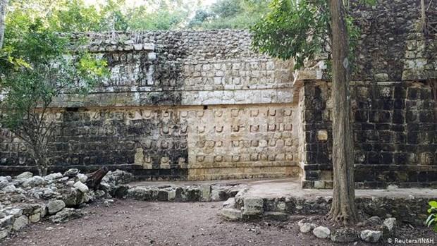 Phat hien cung dien 1.000 nam tuoi cua nguoi Maya o Mexico hinh anh 1
