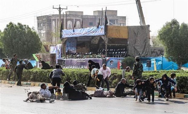 Bo Ngoai giao Iran trieu phai vien Kuwait ve cuoc gap