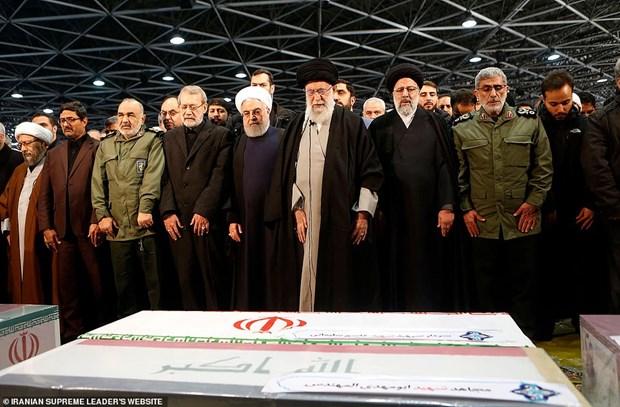Iran: Thi the Tuong Soleimani duoc dua ve Kerman an tang hinh anh 1