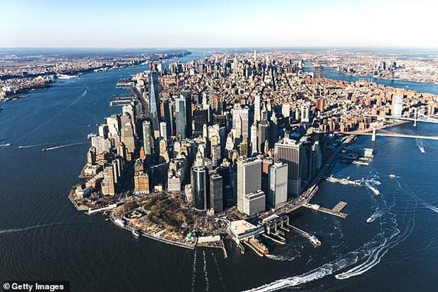 Tong thong My: Xay buc tuong bien bao quanh New York la ngu ngoc hinh anh 1