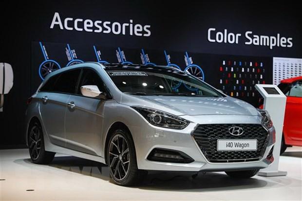 Hyundai Motor lan dau ghi nhan doanh thu vuot moc 100.000 ty won hinh anh 1