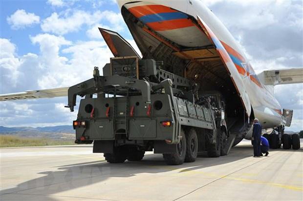 Tho Nhi Ky khang dinh S-400 khong phai la moi de doa voi NATO hinh anh 1