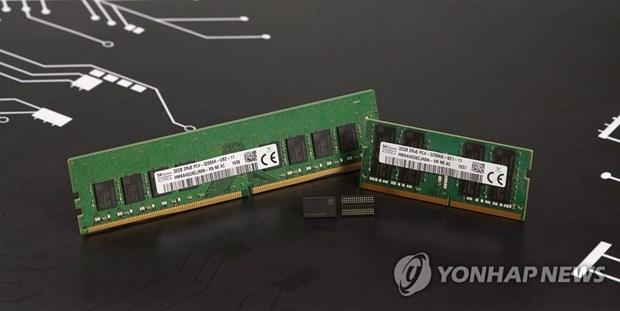 Samsung Electronics giu vung vi the thong tri thi truong DRAM toan cau hinh anh 1