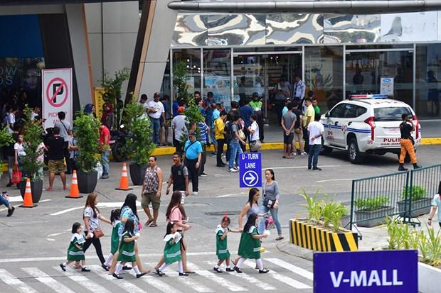 Philippines: 30 nguoi bi giu lam con tin tai trung tam thuong mai hinh anh 1