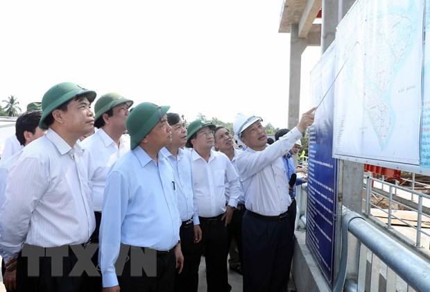 Thu tuong: Xu ly han man, dam bao nguon nuoc sinh hoat cho nhan dan hinh anh 1