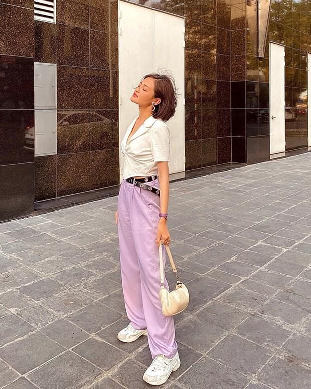 Hoang Thuy Linh, Lan Ngoc va dan sao Viet mix do den sang chanh hinh anh 10