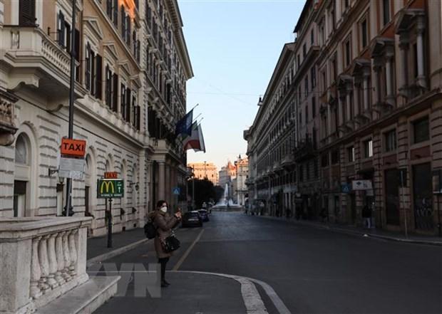 IMF ha du bao tang truong kinh te nam 2020 cua Italy xuong am 0,6% hinh anh 1