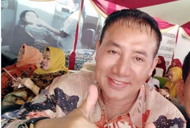 Nghi sy Indonesia qua doi khi dang duoc giam sat COVID-19 hinh anh 1