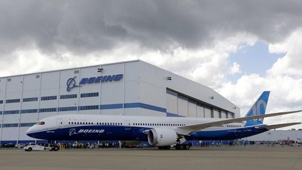 Boeing tam ngung san xuat may bay 787 tai bang South Carolina hinh anh 1