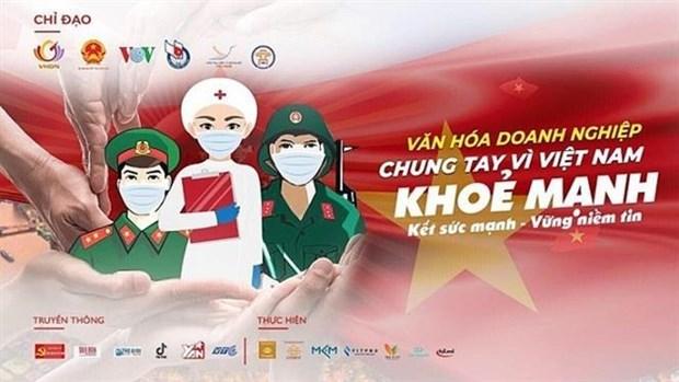 Phat dong online chuong trinh van hoa doanh nghiep cung chong dich hinh anh 1