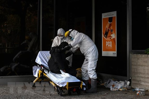 So ca nhiem SARS-CoV-2 tai Tay Ban Nha vuot nguong 200.000 hinh anh 1