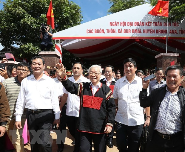 Thuc hien loi day cua Chu tich Ho Chi Minh ve dai doan ket dan toc hinh anh 2