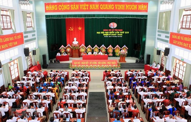 "Nhan su Dai hoi: De can bo mai la ""day to trung thanh cua nhan dan"" hinh anh 1"