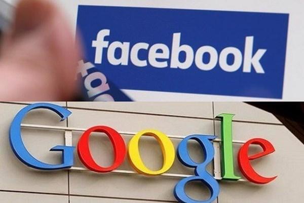 Google, Facebook bi to dung