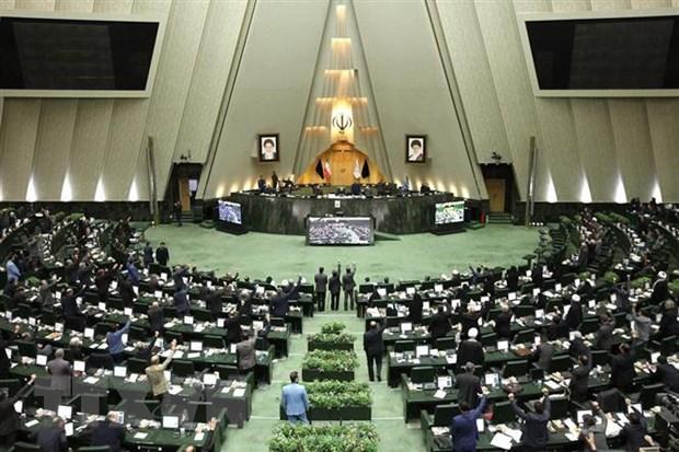 "Quoc hoi Iran thuc day viec lap ""Dai su quan ao"" tai Palestine hinh anh 1"