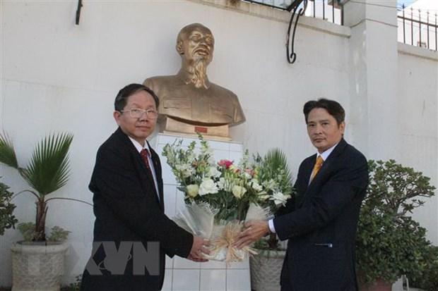 Birth anniversary of Ho Chi Minh in Algeria and Venezuela picture 1