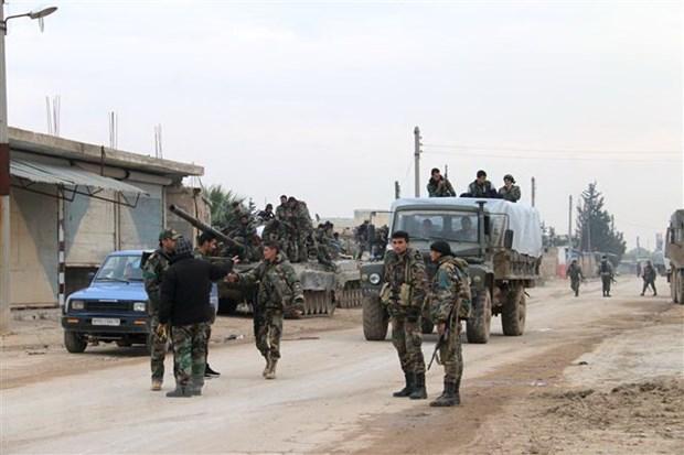 Nhom tay sung cuc doan tan cong khien 19 binh sy Syria thiet mang hinh anh 1