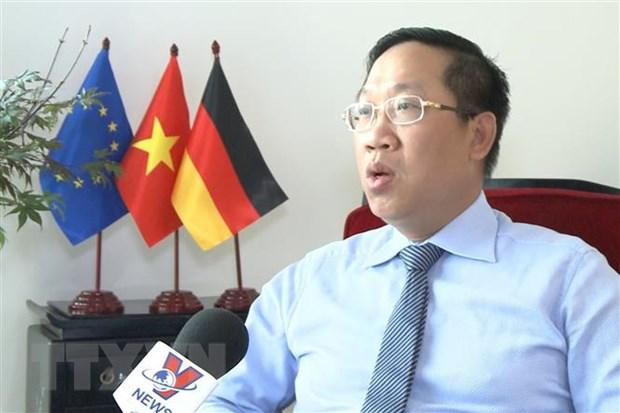 Tham tan Thuong mai tai Duc: Can tan dung tot loi the tu EVFTA hinh anh 1