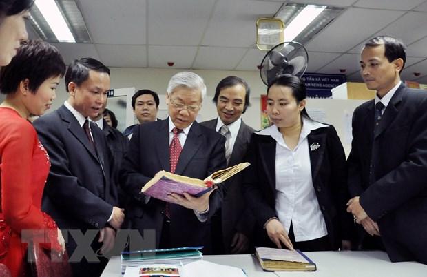 [Photo] TTXVN khong ngung doi moi, nang cao chat luong thong tin hinh anh 19