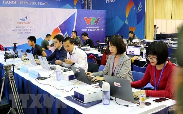 [Photo] TTXVN khong ngung doi moi, nang cao chat luong thong tin hinh anh 27