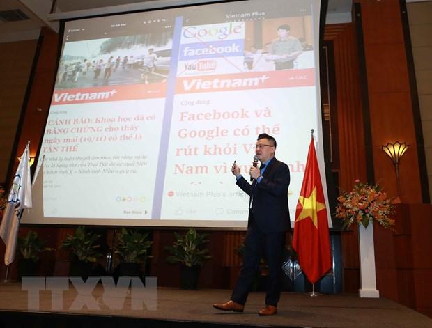 [Photo] TTXVN khong ngung doi moi, nang cao chat luong thong tin hinh anh 32