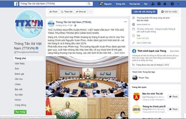 [Photo] TTXVN khong ngung doi moi, nang cao chat luong thong tin hinh anh 41