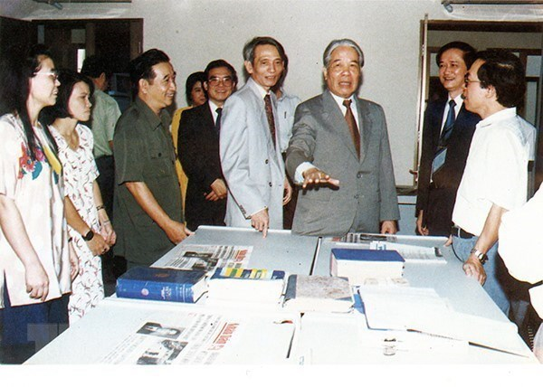 [Photo] TTXVN khong ngung doi moi, nang cao chat luong thong tin hinh anh 9
