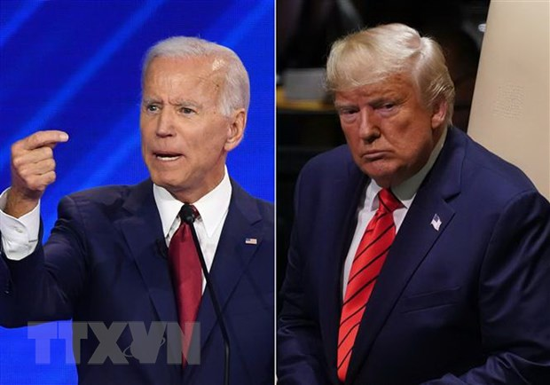 Bau cu My: Ong Biden lai vuot Tong thong Trump khi tham do du luan hinh anh 1