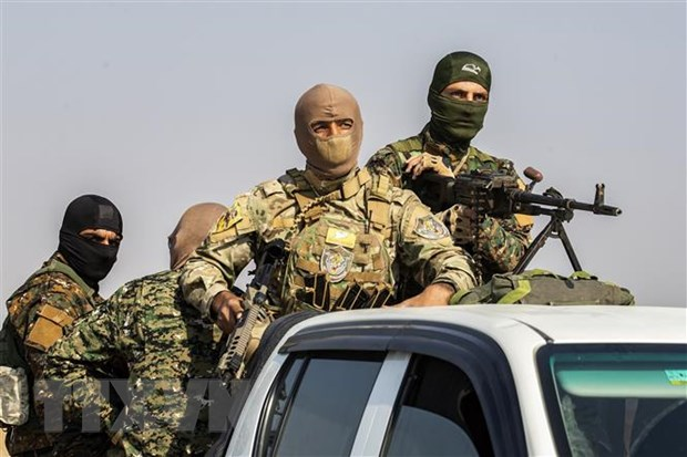 Syria: No o can cu quan su cua SDF, chua co bao cao thuong vong hinh anh 1